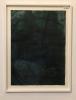 Original på papir (mørk blå) 90 x 120 innrammet