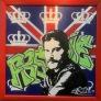 Tribute to Freddie Mercury 100 x 100 cm
