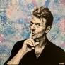 David Bowie 90 x 90 cm
