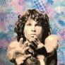 Jim Morrison 100 x 100 cm