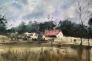 Farm Akvarell