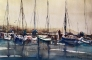 Harbour 2 Akvarell