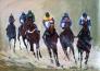 Horsepower 2 150 x 100 cm