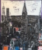 NYC Chrysler Building 145 x 170 cm
