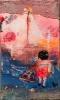 Arrivel of the love ship 30 x 50 cm