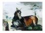 Liggende hest Giclée 80x60cm Ed40