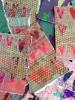 Unike små hjertecollager, ulike farger tilgjengelige