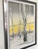 Akvarell innrammet 38 x 57 cm