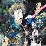 Mick Jagger vs Disney 100 x 100 cm