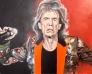 Mick Jagger 100 x 80 cm