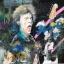 Mick Jagger vs Disney 100 x 100 cm
