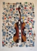Tubes et violin Ed 125 70x100cm