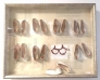 Shoes Box 62x50cm - Objekt, unik