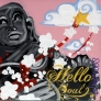Hello Soul 30 x 30 cm (black)