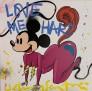 Love Me Hard 80 x 80 cm Ed9