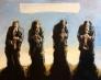 Four music men 150 x 120 cm