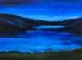Holmevatn natt 160 x 120 cm