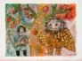 HC Andersen La cloche KLOKKEN II Ed 25of35 Papir 77x58cm