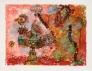 HC Andersen Le Rossignol et le Empereur de Chine NATTERGALEN Ed 25of35 Papir 77x58cm
