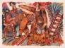 Jour de fete Ed 72of145 Papir 76x56cm