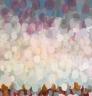 Himmel og hav 135 x 130 cm