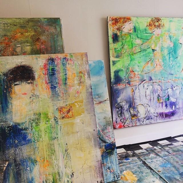 Malerier av LUI