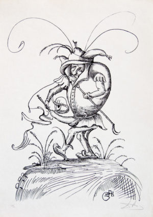 Salvador Dalí - Pantagruel 2