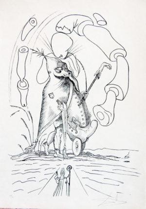 Salvador Dalí - Pantagruel 3