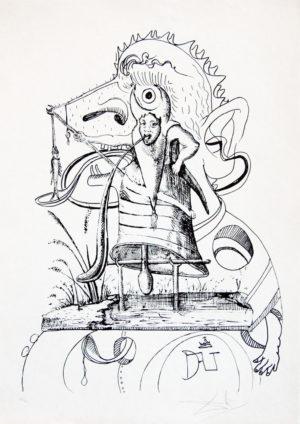 Salvador Dalí - Pantagruel 8