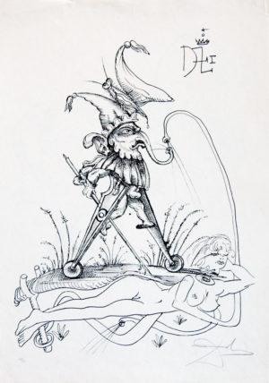 Salvador Dalí - Pantagruel 10