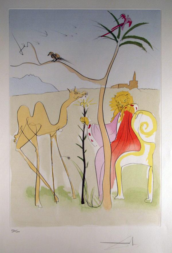Salvador Dalí - La cour du lion