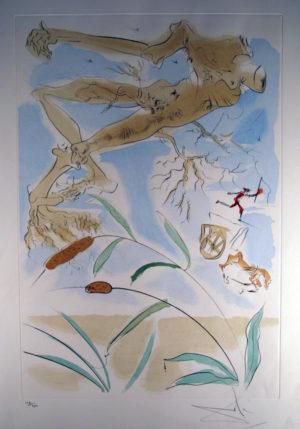 Salvador Dal´- Le chene et le roseau