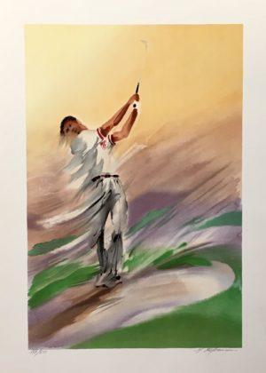 Maurice Fillonneau - Golf 1 Finish Ed250 56x76cm