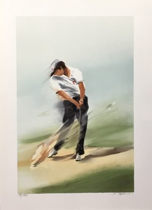 Maurice Fillonneau - Golf 3 Sortie Ed250 56x76cm