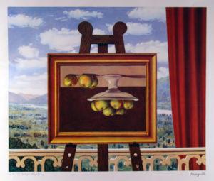 René Magritte - Le Reveil Matin 74x53cm C Stempelsignert
