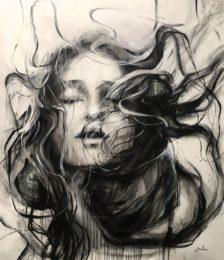 Ewa Hauton - Ariane 130 x 150 cm