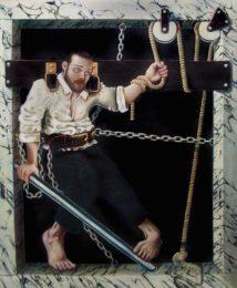 Vincent Langaard - Autogenous Penitentiary 161 x 190 cm