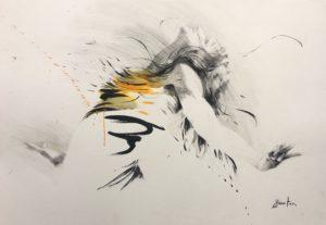 Ewa Hauton - Paper 8 100 x 70 cm