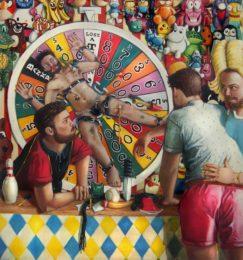 Vincent Langaard - Schadenfreude 157 x 170 cm