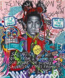 Bjørge Rødfjell Reincarnation-of-Basquiat-100-x-120-cm