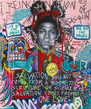 Bjørge Rødfjell Reincarnation-of-Basquiat