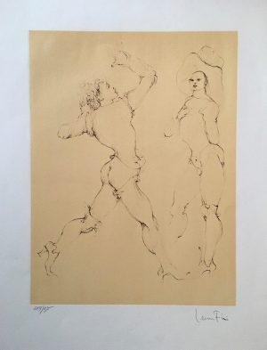 Leonor Fini 3 Femmes en Costumes