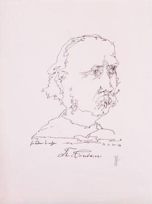 Horst Jansen Theodor Fontane
