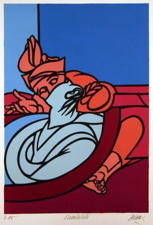 Valerio Adami Orientaliste Ed 175 50x70cm