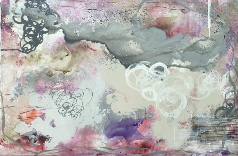 Splash of purple 180 x 120